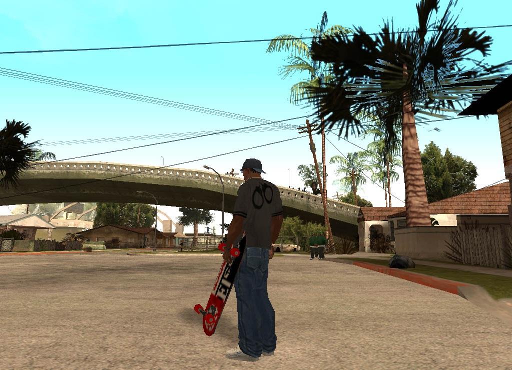 Коды на ГТА Сан Андреас на скейт